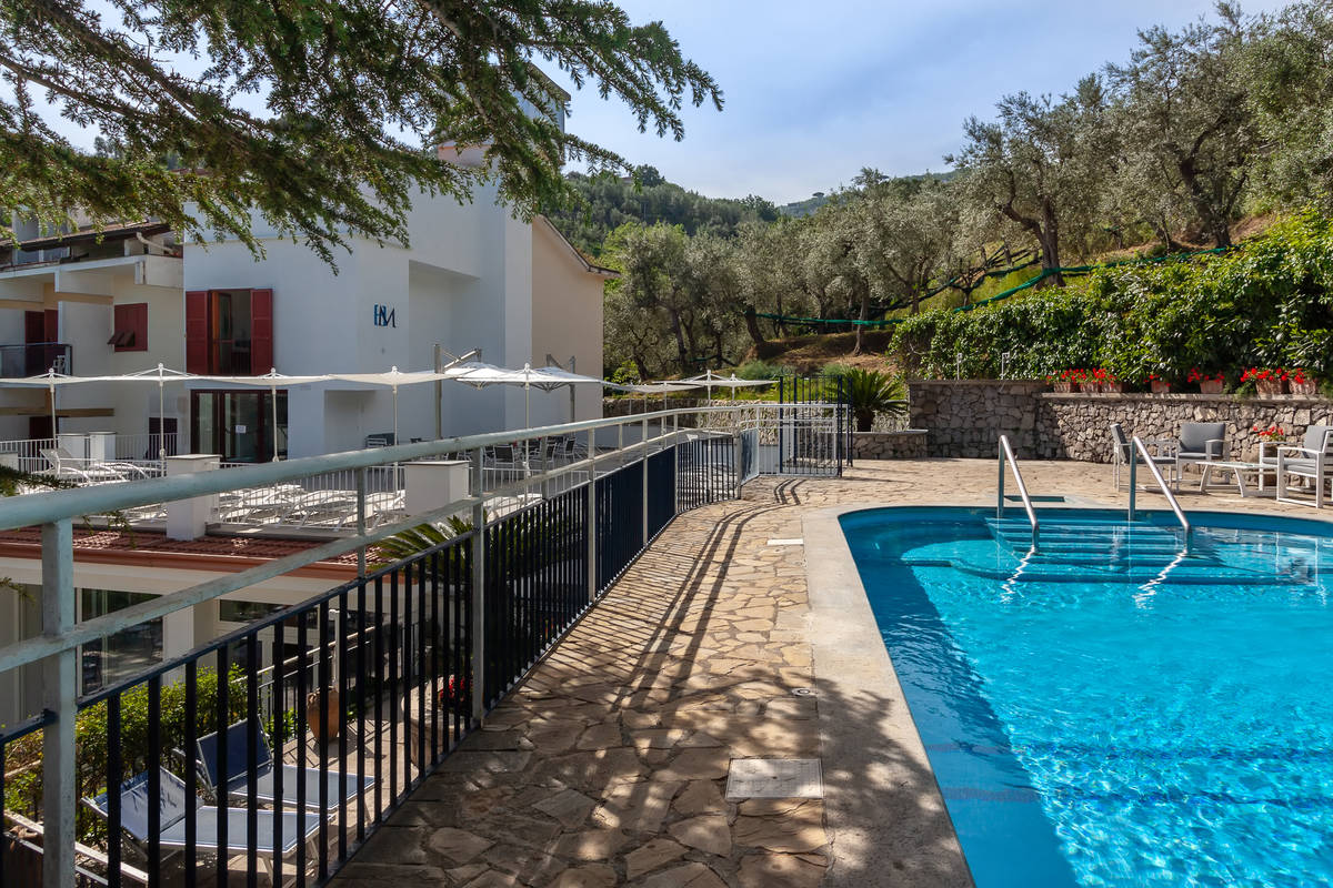 Swimming pool sorrento hotel metropole capo di sorrento - Hotel in sorrento italy with swimming pool ...